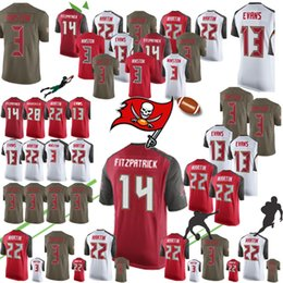 Tampa jerseys Buccaneer 14 Ryan Fitzpatrick 13 Mike Evans 3 Jameis Winston  22 Doug Martin 2019 Stitched Jerseys 87153b47a