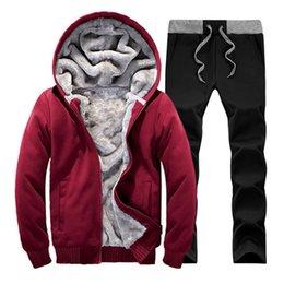 $enCountryForm.capitalKeyWord NZ - 2018 Winter Brand Men Tracksuit Sportwear Sweatshirt Fitness Men's Suit Autumn Tracksuits Set Cheap Hoodies Men Track Suit
