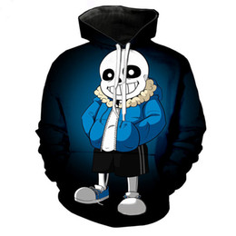 japanese clothes sweatshirt Canada - Game Undertale sans Cosplay Costumes Zipper Hoodies Sweatshirts 3D Printing Unisex Adult man and women Clothing
