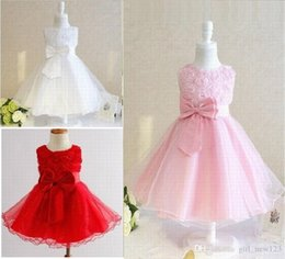 $enCountryForm.capitalKeyWord Australia - Princess Pageant Applique Tulle Children Formal Prom Kids Party Special Occasions Dress,Charming Flower Girl Dress Baby Dresses Tutu Gown