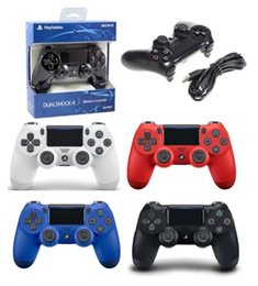 $enCountryForm.capitalKeyWord Canada - Wireless Wired Bluetooth Game Controller for PlayStation PS4 Game Controller Gamepad Joystick for Android Video Games With Retail Box