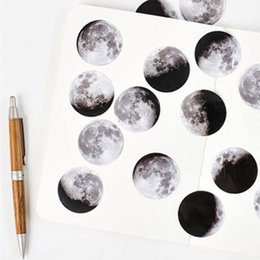 mini diary sticker Australia - 45 Pcs box Cute Creative Moon Mini Paper Sticker Decoration Diy Ablum Diary Scrapbooking Label Sticker Stationery School Supply
