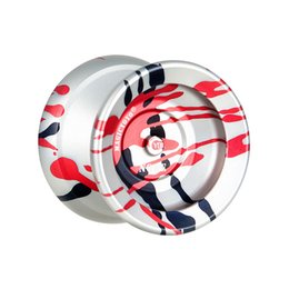 yoyo 1a tricks NZ - Alloy Yoyo Professional Trick Magic Yo-Yo 10 Ball KK Bearing Diabolo Yoyo Ball with Spinning String Kids Educational Classic Toy