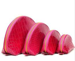 $enCountryForm.capitalKeyWord UK - Women Cosmetic Bags Organizer Famous Brand Makeup Bag Designer Travel Pouch Make Up Bag Ladies Clutch Purses Combined Toiletry Bag 4pcs  Set