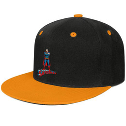 Superman flat cap online shopping - Superman man logo Yellow for men and women baseball flat brim cap design fitted golf design your own fitted cute unique classic flat brim h
