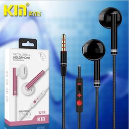 $enCountryForm.capitalKeyWord NZ - 5pcs hot 3.5MM interface wire control universal earphones in-ear subwoofer mobile phone universal high-end headphones
