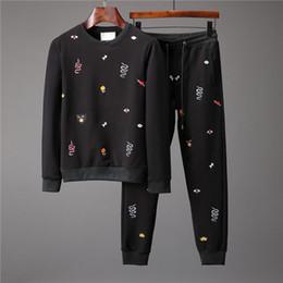 $enCountryForm.capitalKeyWord NZ - Latest model Autumn Winter Men Fashion Sweatshirts Animal Print Tops Pants Sportswear Casual Slim Men's Running Tracksuits Sport Suit #7161