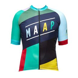 China Ropa Ciclismo Cycling Jersey Men MAAP Team summer mtb bicycle clothing Breathable road bike shirt short sleeve Outdoor Sportswear Y071703 supplier maap jersey suppliers