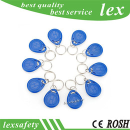 control id NZ - cheaest price making 100pcs lot ISO11785 Tk4100   EM4100 125kHz Key Proximity RFID ID Fob RFID Security Electronic Access Control Fobs