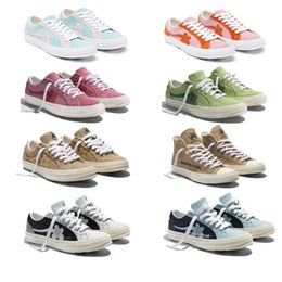 $enCountryForm.capitalKeyWord Australia - 2019 Tyler The Creator x One Star Ox Golf Le Fleur Fashion Designer Sneakers TTC Casual Shoes for Skateboarding Sport Shoes for Men Women c6