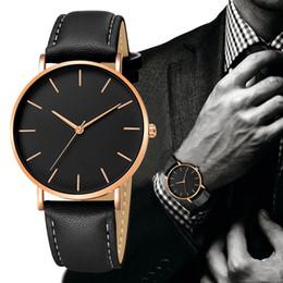 $enCountryForm.capitalKeyWord Australia - 2019 relogio masculino Geneva Fashion watches men Date Alloy Case Synthetic Leather Band Quartz Wristwatches Sport Watch saat