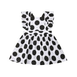 $enCountryForm.capitalKeyWord Australia - Newborn Baby Girls Clothes Princess Party Summer Polka Dot Dress Sundress Clothes