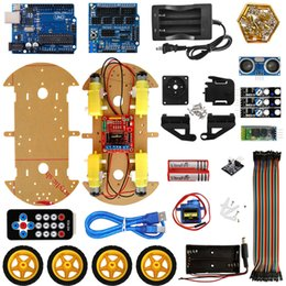 $enCountryForm.capitalKeyWord Australia - Multifunction Bluetooth Controlled Robot Smart Car Kits Tons of Published Free Codes 4WD UNO R3 Starter Kit for arduino Diy Kit