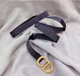 Faux Leather Models Australia - Hot sell Designer Womens designer belts D letter Womens Cowhide leather designer belt 2.0cm model not with box as gift 8178