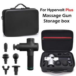 venda por atacado Para armazenamento Gun Hypervolt Além disso Fascia Box para Hyperice Massagem Gun armazenamento saco impermeável Ombro Messenger Bag Sem