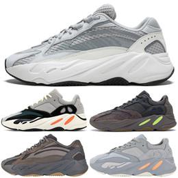 buy online 3224f faff6 Adidas yeezy 700 Wave Runner Mauve Nuevo 700 V2 Estático Hombres Mujeres  Zapatos Corrientes 2019 La mejor calidad Kanye West Sports Designer  Sneakers con ...
