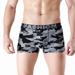 Wholesale gay sport online – Men s boxer Underwear Comfortable Sports Long Running gay underwear Wear Leg Multi function men s underpants cueca masculina