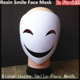 scary movie face mask 2019 - Top Grade Movie The Purge Clown Resin Anonymous Masks Halloween Scary Horror Party Full Face Smile Mask Carnival Costume