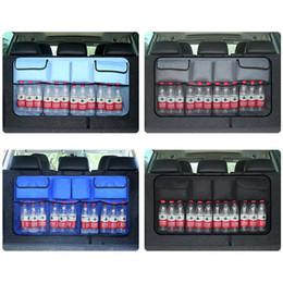 $enCountryForm.capitalKeyWord Australia - wholesale 1PC Auto Car Trunk Back Seat Storage Bag Organizer Sticking Holder Pocket Organizer Pocket Supplies Multi Hanging