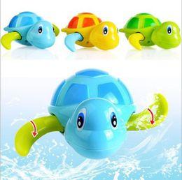$enCountryForm.capitalKeyWord Australia - Baby Kids Swim Tortoise Chain Bathing Shower Clockwork Water Baby Bath Toys for Children & Toddler Boy Toys & Hobbies