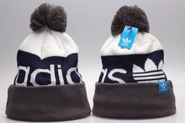 $enCountryForm.capitalKeyWord UK - 2019 Newest brand Winter Beanie Knitted Hats Sports Teams Baseball Football Basketball Beanies Caps Women& Men Pom Fashion Winter Top Caps