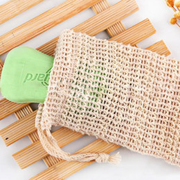 foaming products 2019 - 9*14cmSoap Blister Mesh Foaming net soap storage bags Bubble Mesh Bag bath products, bath toilet products T2I5108 discou