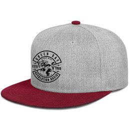 $enCountryForm.capitalKeyWord UK - Green Day Revolution Radio Crest Band Logo Men's Women hat snapbackTrucker Hat burgundy Outdoor