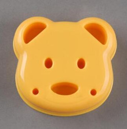 $enCountryForm.capitalKeyWord Australia - DIY Cartoon Bear Design Sandwich Cutter Bread Biscuits Embossed Device Cake Tools Rice Balls Lunch DIY Mould Tool