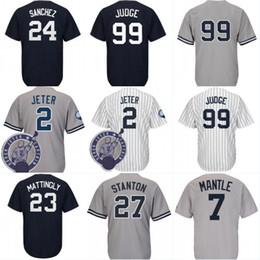 $enCountryForm.capitalKeyWord Australia - New York 99 Aaron Judge 2 27 jersey Men's 23 Don Mattingly 3 Babe Ruth 7 Mickey Mantle Baseball Jerseys