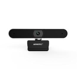 Aoni A30 mikrofon ile 1080 P HD masaüstü bilgisayar kamera Ev ağı akıllı TV kamera canlı güzellik ücretsiz sürücü USB