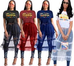$enCountryForm.capitalKeyWord Australia - Women's Sexy printed one-piece dress Splicing mesh dress Round neck perspective princess dress Explosive new style