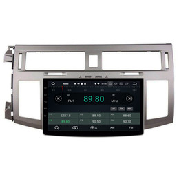 "Car Bluetooth Stereo Transmitter Australia - 4GB RAM 64GB ROM2din 9"" Android 8.0 Car DVD Player for Toyota Avalon 2008-2012 Car Stereo RDS Radio GPS Audio Bluetooth WIFI USB DVR"