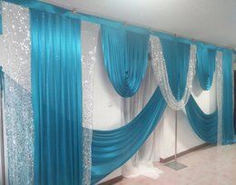 $enCountryForm.capitalKeyWord Australia - 3M*6M wide Swags of backdrop Wedding drape decoration Decoration stage backdrop stylist Party