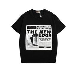 T Shirts S Print Letters Australia - New mens designer t shirts Black Letter print Tops tees men Top quality cotton tshirts summer men clothings Size S-XXL