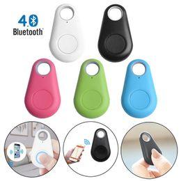 Toptan satış 10 adet Mini Akıllı Bluetooth GPS Izci Bulucu Alarm Cüzdan Bulucu Anahtar Anahtarlık Pet Köpek İzleyici Çocuk Carphon Telefon Anti Kayıp Hatırlatma