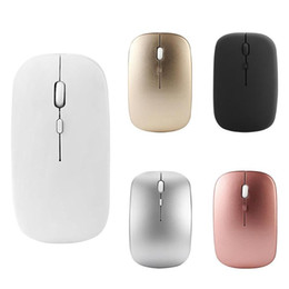 $enCountryForm.capitalKeyWord NZ - W8 2.4G Wireless Rechargeable Thin Silent Mouse 1600DPI 4 Keys Optical Mice