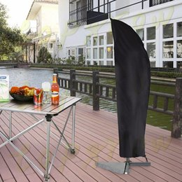 Outdoor Sheds NZ - Outdoor Waterproof Patio Umbrella Canopy Cover Shade Protective Sunshade Rain Sun Shelter Shed Zipper Bag Awing Bags H0237