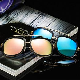 Quality Beach Wraps Australia - Fashion Men Cool Square Style Gradient Sunglasses Driving Vintage Brand Design High quality Sun Glasses LE310