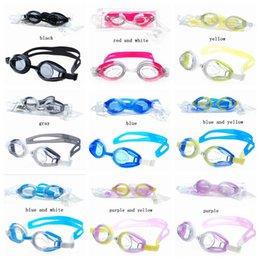Verão Adulto Óculos de Natação Pequeno E Requintado Simplicidade Anti-Desgaste Anti-Fog À Prova D 'Água Silicone Eco Friendly Óculos ZZA227 em Promoção