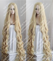 $enCountryForm.capitalKeyWord Australia - 150CM Long Wavy Curly Wig Occident Pastoral Style Mix Blonde Cosplay Wig Hair >>>Free shipping New High Quality Fashion Picture wig