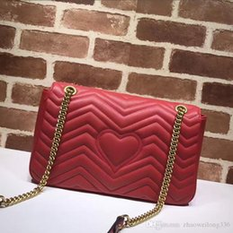 $enCountryForm.capitalKeyWord Australia - Top Quality Luxury Celebrity design Large Heart Cluth Marmont Shoulder Bag Women Genuine Leather Crossbody Messenger Bag Chain Belt 443496