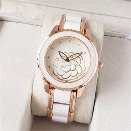 Zeland кварцевые женские часы, цветение камелии, свежий и элегантный, высокое качество, #insgood на Распродаже