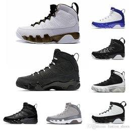 pe shoes NZ - Mop Dream it 9s Melo basketball shoes Bred Anthracite Cool Grey black white OG space jam release PE Sports Balls Shoe for men