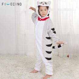 $enCountryForm.capitalKeyWord Australia - Anime Chi Cat Onesie Cosplay Cartoon Kid Pyjamas Warm Winter Soft Kawaii Costume Little Girl Homewear Button Party Suit