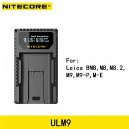 $enCountryForm.capitalKeyWord Australia - Nitecore Upgrade version ULM9 USB Travel Charger For Leica M9 series BLI-312 Battery Leica Camera BM8 M8 M8.2 M9 M9-P M-E