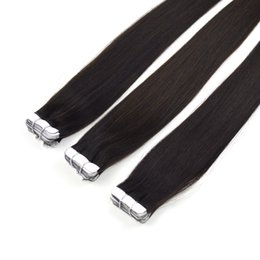 $enCountryForm.capitalKeyWord NZ - Wholesale Tape Hair Extension No Shedding Factory Price Extensions 100% Human Hair Remy Tape Hair 16 inch
