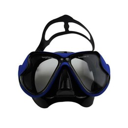 spearfishing gear Canada - Wholesale- Professional Water Sports Spearfishing Scuba Myopia And Hyperopia Gear Swimming Goggles Diving Mask