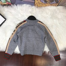 $enCountryForm.capitalKeyWord Australia - Hot Boy Sweater 2019 Autumn Brand Design Wool Knitted Pullover Cardigan For Baby Girls sweaters Children Clothes Kids Infant Top sky_baby