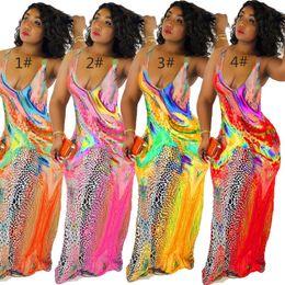 $enCountryForm.capitalKeyWord Australia - Womens dresses sexy bra maxi summer dress beach party evening club dress casual fashion print dress klw1438