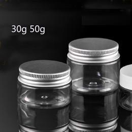 $enCountryForm.capitalKeyWord NZ - New 1000X30g PET jar, empty 0 gram plastic cream jar with aluminimun lids, 30g cosmetic container